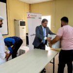 Ramadan volunteering at Red crescent, Abu Dhabi
