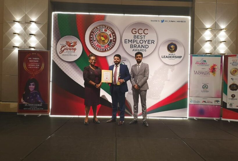 Mr. Anas Mistareehi, COO of AWNIC won the Leadership Excellence In Technology Innovation award at the GCC Best Employer Brand Awards 2019