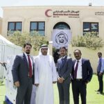 Awnic Insurance volunteered at Red Crescent Authority