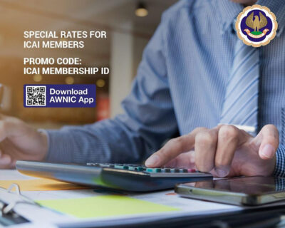 Special rates for ICAI members